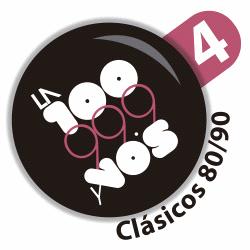 La 100 4 Clásicos 80 y 90